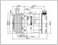 Image of Sanden compressors - SD7L13