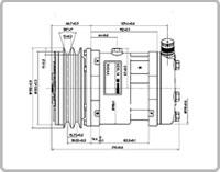 Image of Sanden compressors - SD5L14