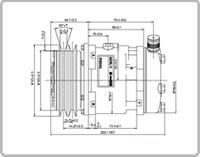Image of Sanden compressors - SD5L11